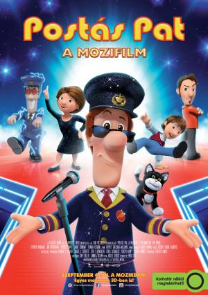 Postás Pat - A mozifilm, mozi plakat