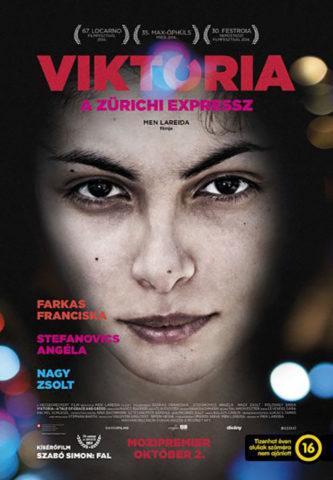 Viktoria: A zürichi expressz, mozi plakát