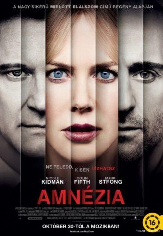 Amnézia (Before I Go to Sleep) 2014 poszter