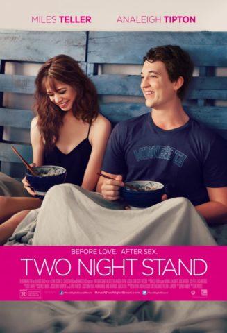 Kétéjszakás kaland, mozi poszter