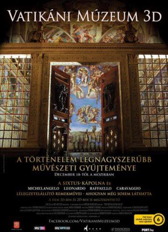 Vatikáni Múzeum 3D-poszter