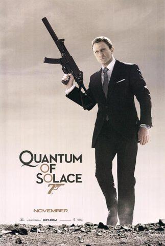 A Quantum csendje mozi poszter