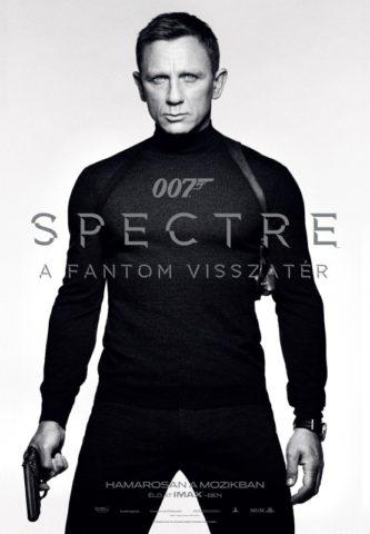 007 Spectre - A Fantom visszatér-poszter