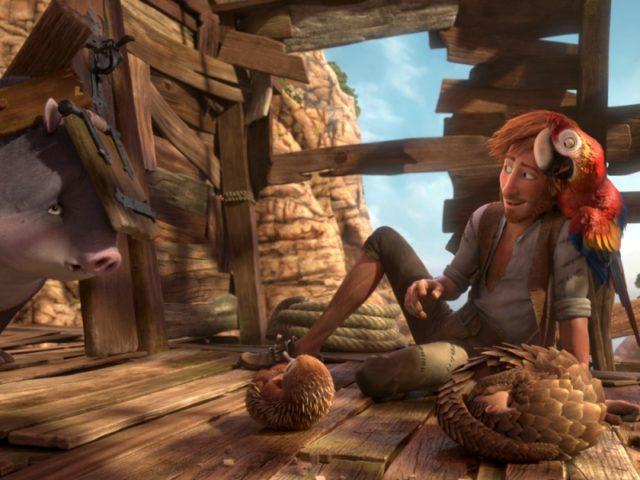 Robinson Crusoe animacio