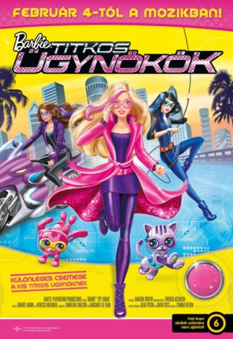 Barbie Titkos ugynokok-poszter