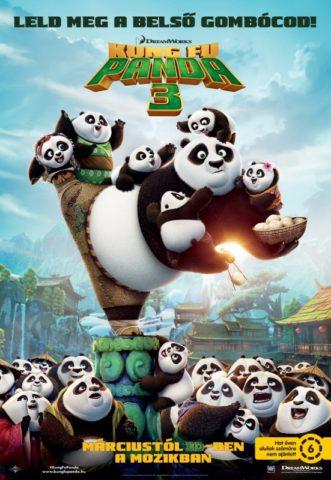Kung Fu Panda 3 mozi poszter 2016