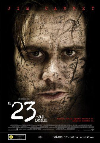A 23-as szám mozi plakát