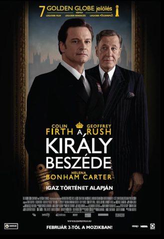 A király beszéde, film poszter