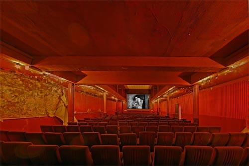 La Eden Cinema, vetítőterem