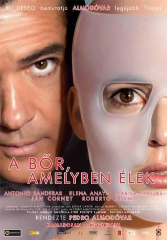 A bőr amelyben élek, film plakát
