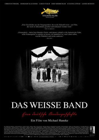 A fehér szalag, film plakát