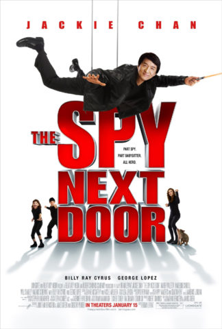 Kém a szomszédban, film plakát