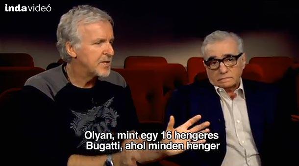 James Cameronnal  - Martin Scorsese