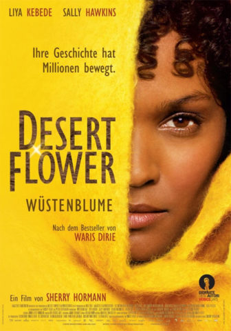 A sivatag virága, film plakát
