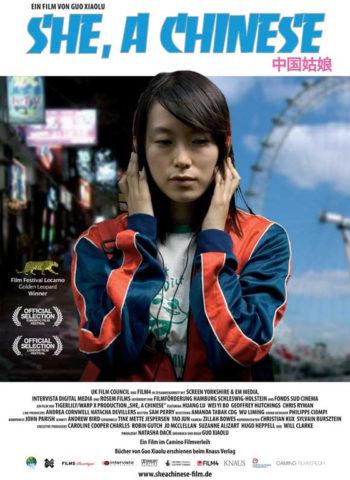 Kínai lány, film plakát