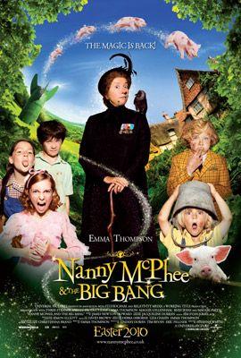 Nanny McPhee és a Nagy Bumm, film plakát
