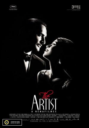 A némafilmes, film plakát