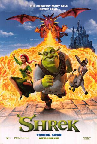 Shrek, film plakát