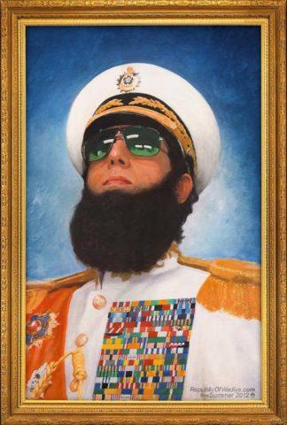 A diktátor, film plakát