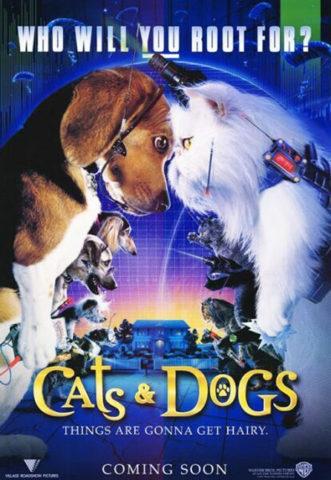 Kutyák és macskák, film plakát