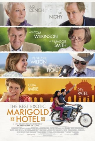 Keleti nyugalom - Marigold Hotel (Best Exotic Marigold Hotel) 2012 poszter