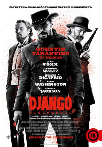 Django elszabadul plakát 18