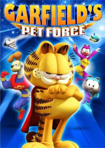 Garfield és a Zűr Kommandó 3D, film plakát
