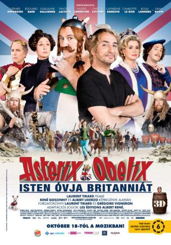 Asterix és Obelix: Isten óvja Britanniát, film plakát