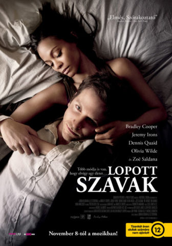 Lopott szavak (2012) - magyar poszter