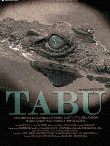 tabu - poszter