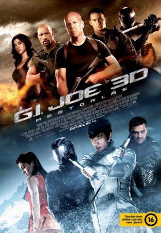 G.I. Joe: Megtorlás 3D plakát
