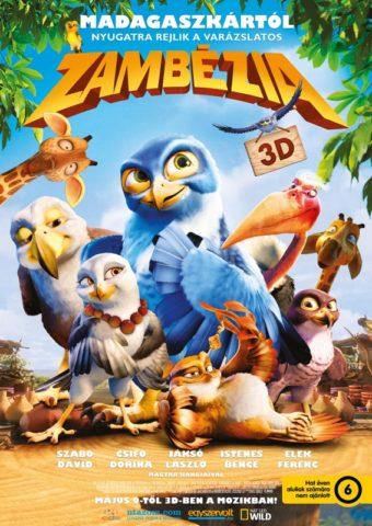 Zambézia, film poszter