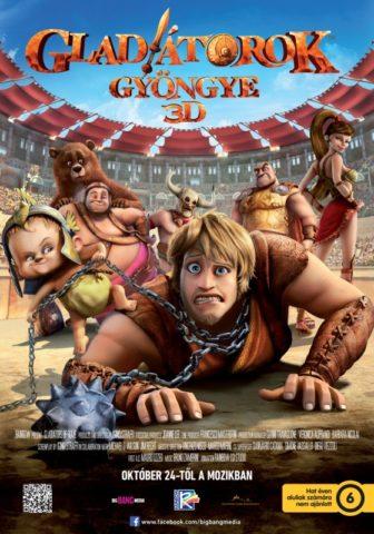 Gladiátorok gyöngye (Gladiatori di Roma) 2012 poszter