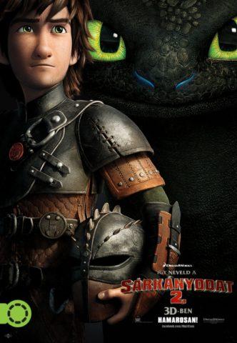 Így neveld a sárkányodat 2, film poszter