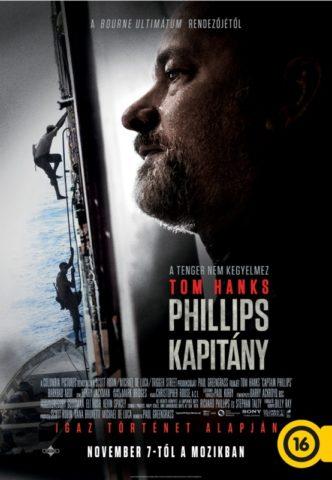 Phillips kapitany (Captain Phillips) 2013-poszter