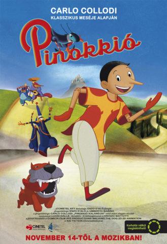 Pinokkió, film poszter