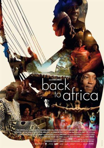 Vissza Afrikába, film poszter