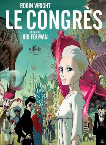 A futurológiai kongresszus, mozi poszter