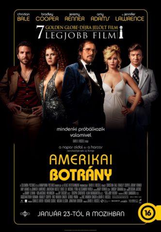 Amerikai botrány (American Hustle) 2013 poszter