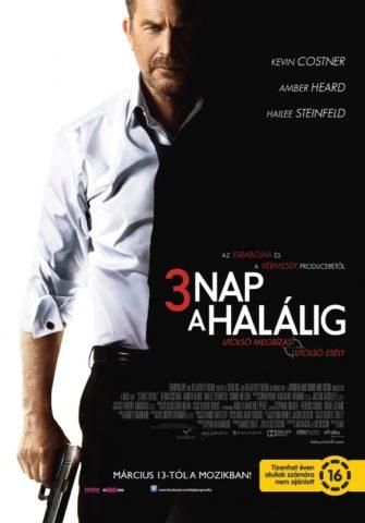 3 nap a Halálig, mozi poszter