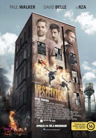 Veszélyzóna (Brick Mansions) 2013 poszter