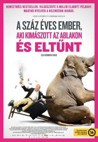 A 100 éves ember mozi poszter