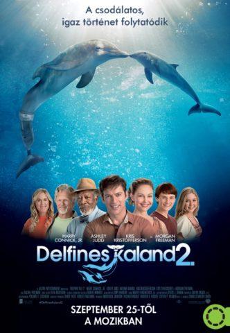 Delfines kaland 2 (Dolphin Tale 2) 2014 poszter