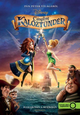 Csingiling és a Kalóztündér, mozi plakát