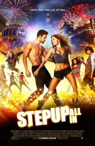 Step up all in mozi plakat