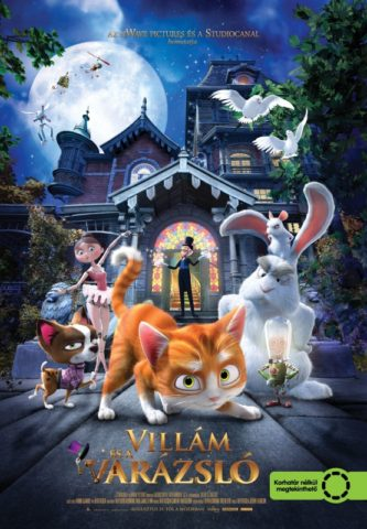 Villám és a Varázsló, mozi plakát