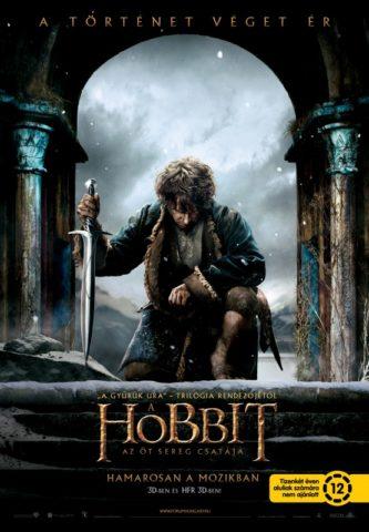 A hobbit Az öt sereg csatája-poszter