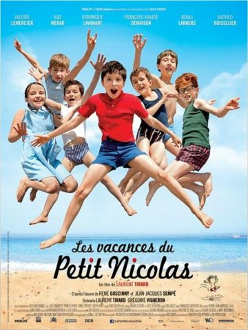 A kis Nicholas nyaral, mozi plakát
