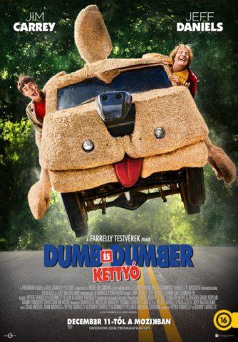 Dumb és Dumber kettyó (Dumb and Dumber To) 2014 poszter