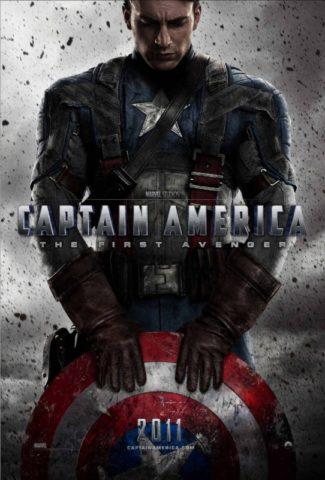 Amerika kapitány Az első bosszúálló mozi poszter